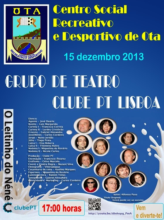 CSRDO - Gr Teatro Clube PT Lisboa - 15.12.13