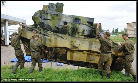 Russie une armée gonflable-2
