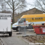 Asbest in keuken dorpshuis de Kiepe Nieuwe Pekela - Foto's Harry Wolterman