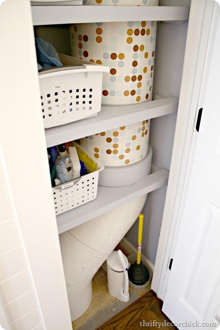 PVC laundry chute