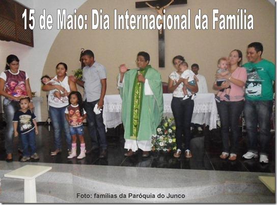 15 de Maio Dia Internacional da Família