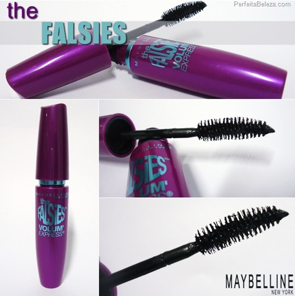 máscara para cílios the falsies maybelline