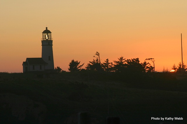 Cape Blanco at Sunset