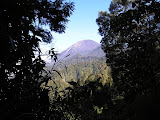 Semeru as seen from near the start of the trail (Daniel Quinn, July 2010)