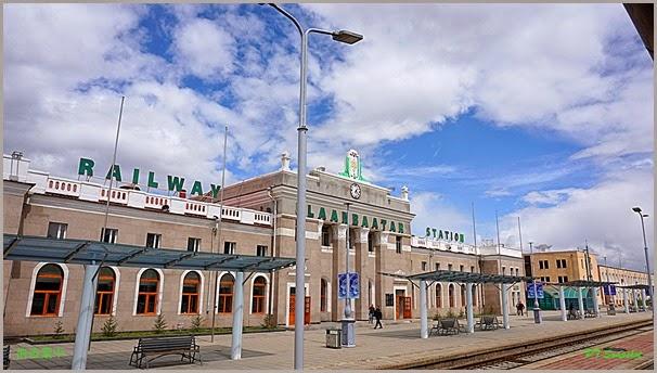 乌兰巴托火车站