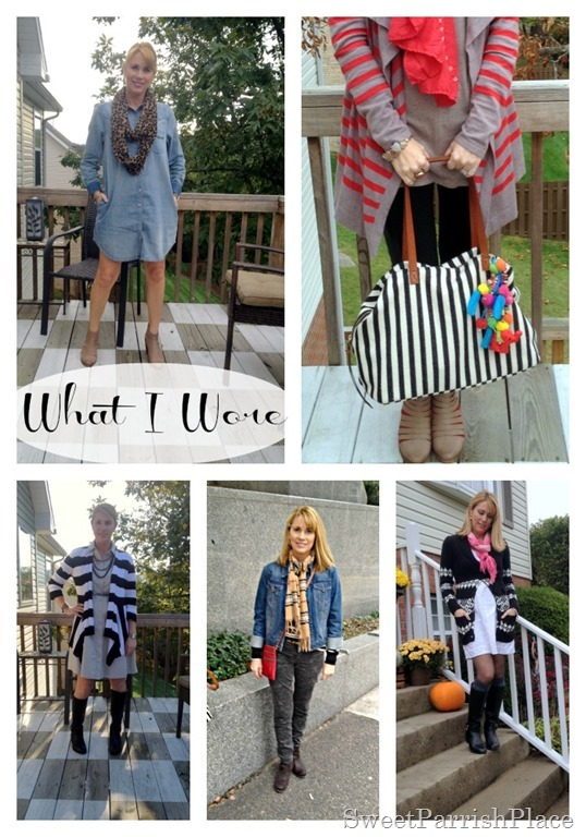 october what i wore