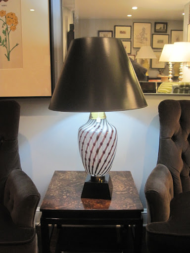 I am in love with this lamp, the shade, shape and color; pattern and base. Where can I put this at home?