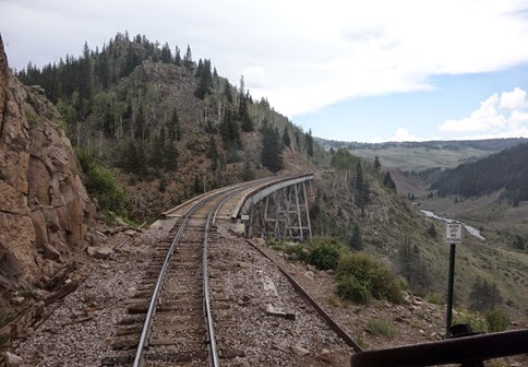 Cumbres and Toltec Scenic Railroad Antonito CO to Chama NM (169)