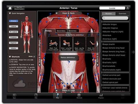 iMuscle para iPad