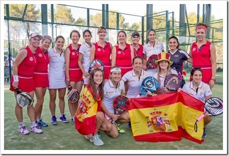 España y Argentina demuestran su autoridad en la jornada inaugural del Iberostar Mundial de Pádel 2014.