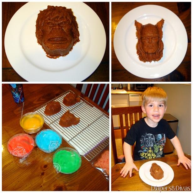 Marvel Cakes