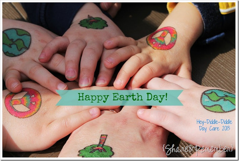 earth day tattoos