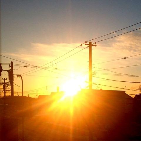 2011.12.27 日の出