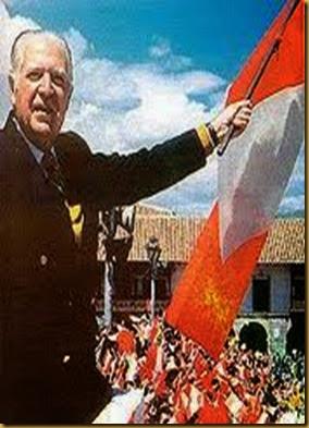 OA4FB - Fernando Belaunde Terry, ex presidente de Peru