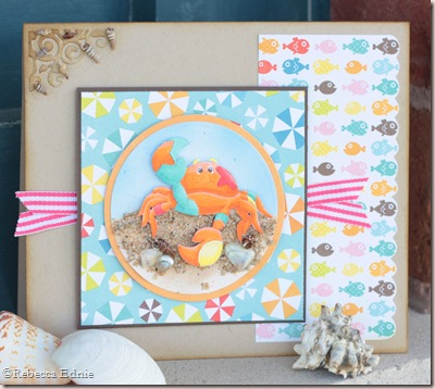 quirky crab card