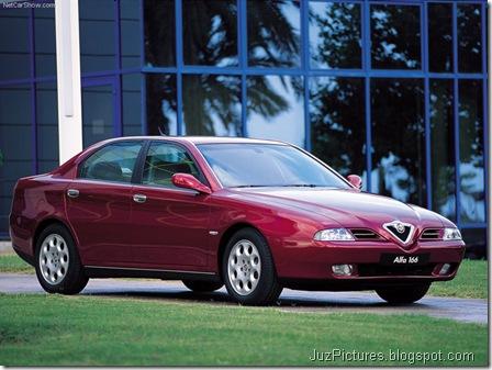 Alfa Romeo 166 (1998)7