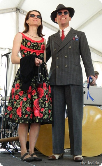 Fifties Fair Best Dressed Competition Couple 2