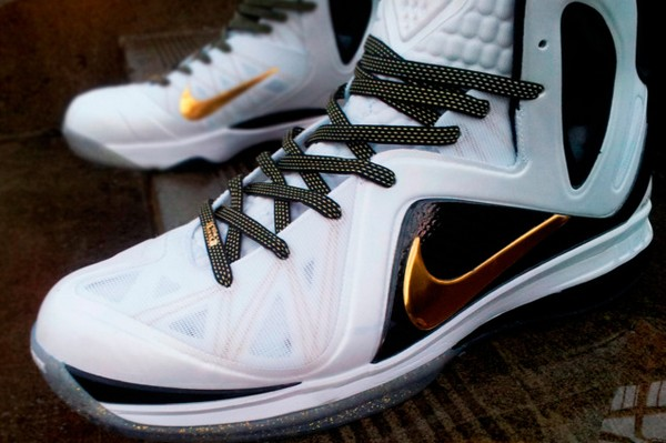 Lace Swap Nike LeBron 9 PS Elite Home with Away Kevlar Laces