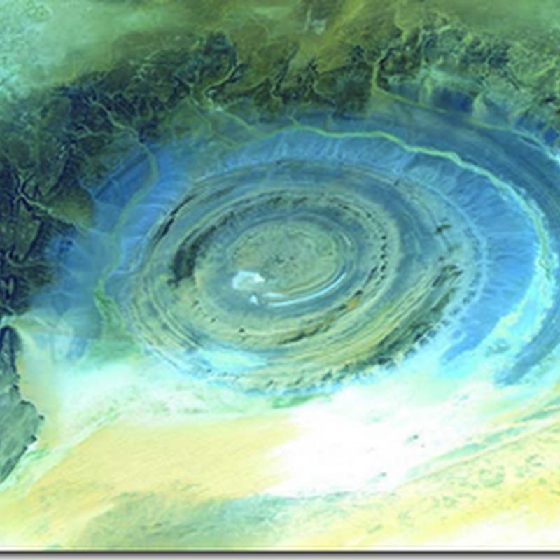 Uzaydan Görülen Gizemli Dairesel Yapı
