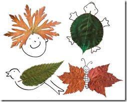 manualidades hojas secas  (7)