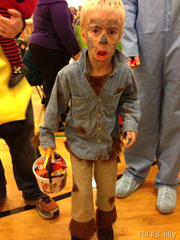 kid werewolf halloween costume