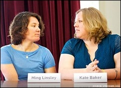 Kate Baker e Ming Linsley