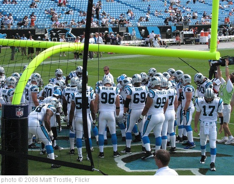 '09-13-08 Panthers Game 035' photo (c) 2008, Matt Trostle - license: http://creativecommons.org/licenses/by/2.0/