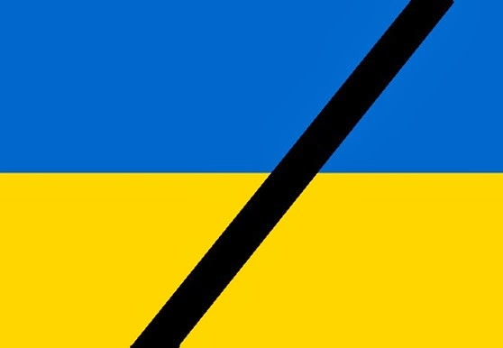 Bandièra d'Ucraïna en dòl