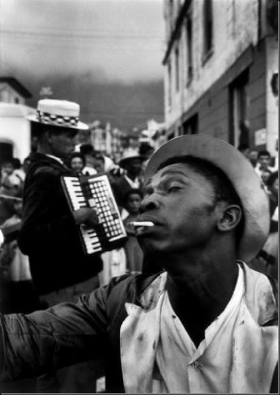 CAPE TOWN, South Africa — The New Year Coon Carnival in District Six, 1960.