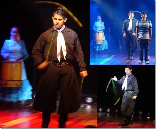 Show de boleadeiras gaucho Ipora Rafain Foz do Iguacu