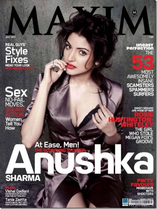 Anushka Sharma Maxim