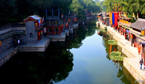 suzhou street @summer palace