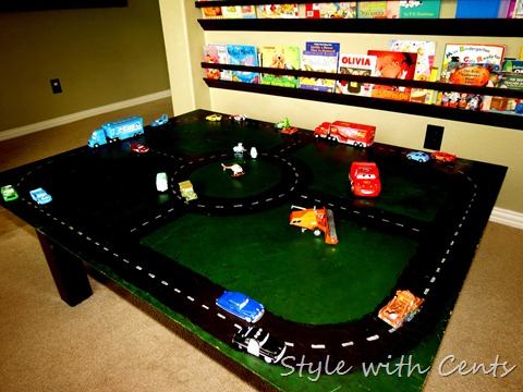 disney cars hot wheels race track 3
