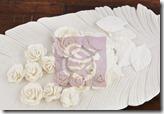 Scrap Emporium - Laraine Pearl White - Flores - prima - 557645