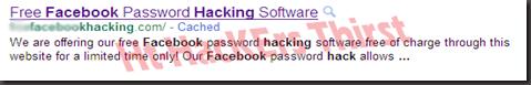 Scam 1 Facebook Fake hacker