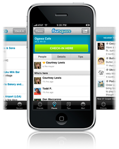 Foursquare para iphone 2g con 3.1.2 ó 3.1.3