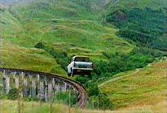 glenfinnan flying car