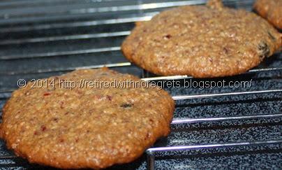 Cranberry  Raisin Walnut Oatmeal Cookies - Gluten Free