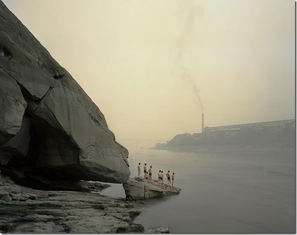 Bathers, Yibin, Sichuan Yangtze, The Long River Series