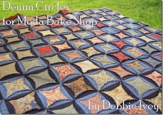 Denim Circles