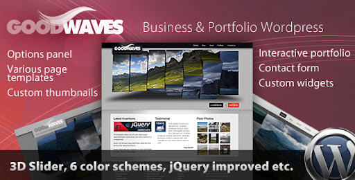 Goodwaves - Business & Portfolio Wordpress theme - Business Corporate