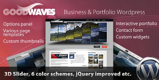 Goodwaves - Business & Portfolio Wordpress theme - Business Corporate