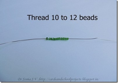Beaded tree tutorial 4
