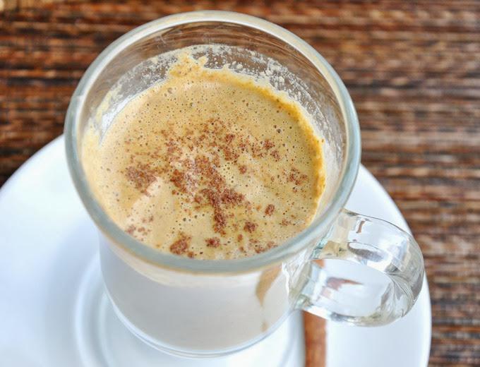pumpkin chai tea latte 042