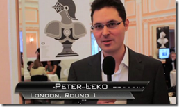 GM Peter Leko, Hungary