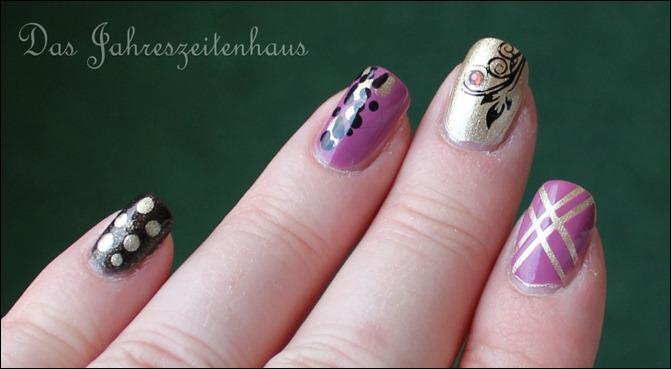 Skittle Nails 3