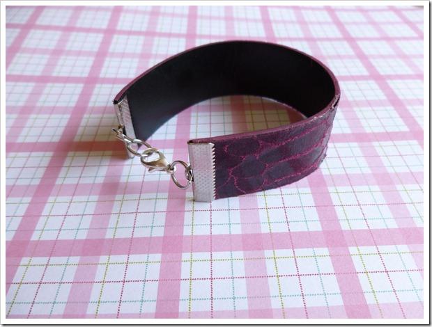 belt into bracelet