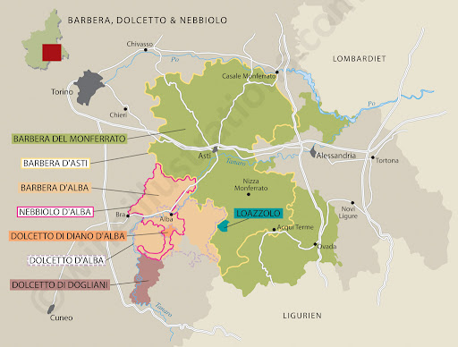 Map of Barolo Wine Region http://www.vineyardadventures.com/2012/01/13/piemonte-dolcetto-simple-or-hidden-gem/