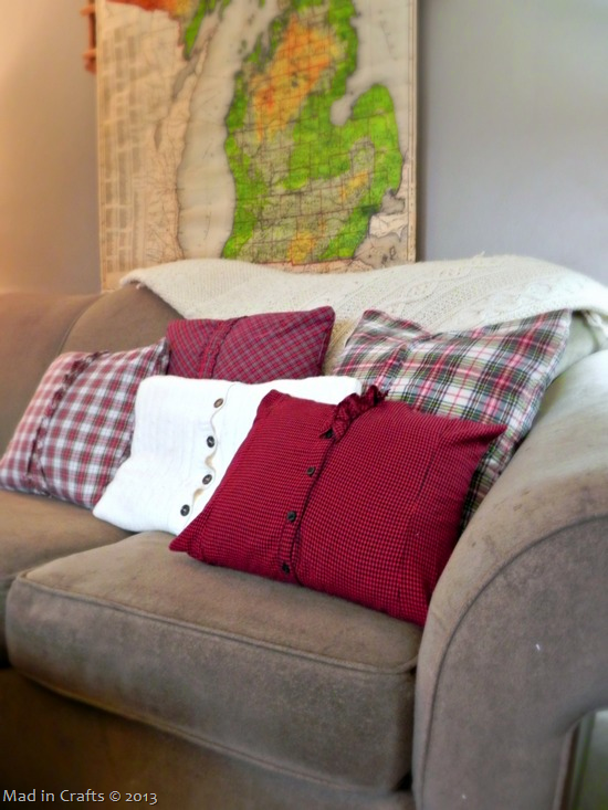 plaid pillows