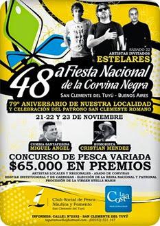 Mañana comienza la Fiesta de la Corvina Negra en San Clemente